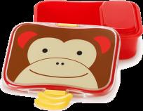SKIP HOP Zoo Krabička na svačinu 4-dílná - Opička