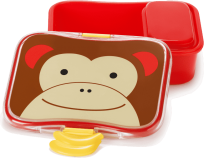 SKIP HOP Zoo Krabička na desiatu - 4-dielna - Opička