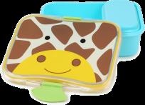 SKIP HOP Zoo Krabička na desiatu - 4-dielna - Žirafa