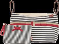 BABYMEL Organizér – Navy Stripe