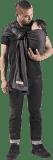 JPMBB Baby šátek bez uzlu – antracitová/hnědá