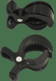 PETITE&MARS Kolíček Peg na kočárek, 2 ks - černý