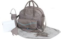 BO JUNGLE Přebalovací taška B-CITY Taupe