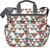 SKIP HOP Přebalovací taška s podložkou Duo Signature - vzor Trojúhelník