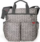 SKIP HOP Torba do przewijania Duo Signature grey feather