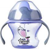 TOMMEE TIPPEE Netekoucí hrnek Explora First Cup 150 ml 4m+, fialový