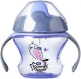 TOMMEE TIPPEE Netečúci hrnček Explora First Cup 150 ml, 4m+, fialový