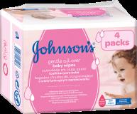 JOHNSON'S BABY Gentle all over 224 ks - vlhčené obrúsky