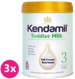3x KENDAMIL Batoľacie dojčenské mlieko 3 (900 g)
