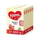 5 x HAMI 12+ (600 g) - dojčenské mlieko