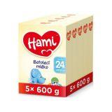 5 x HAMI 24+ (600 g) – dojčenské mlieko