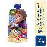 HAMI Disney Frozen Anna ovocná kapsička Jablko a Banán 110 g, 9+