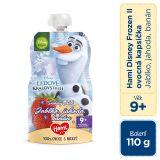 HAMI Disney Frozen Olaf ovocnozeleninová kapsička Jablko, Jahoda, Banán 110 g, 9+