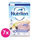 7 x NUTRILON Pronutra Viaczrnná mliečna kaša sovocím od uk. 6. mesiaca 225 g