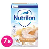 7 x NUTRILON Pronutra® Piškotová kaše se 7 druhy obilovin 225 g, 8+