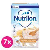 7 x NUTRILON Pronutra piškótová mliečna kaša so 7 druhmi obilnín od uk. 8. mesiaca 225 g