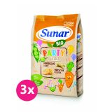 3 x SUNAR BIO křupky Party mix 45 g