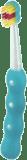 MAM Zubná kefka na učenie Training Brush, 6+ mesiacov – tyrkysová