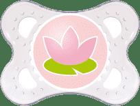 MAM Dudlík Nature 0-6 měsíců, silikon, holka – náhodný motiv