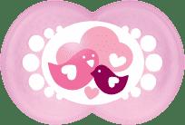 MAM Cumlík Nature 6+ mesiacov, silikón, dievča - náhodný motív