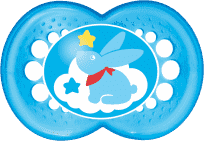 MAM Dudlík Clearline 6+ měsíců, silikon, kluk – náhodný motiv