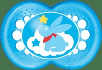 MAM Cumlík Nature 6+ mesiacov, silikón, chlapec - náhodný motív