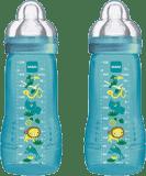 MAM Kojenecká láhev Baby Bottle (2 ks) 330 ml, 4m+, modrá