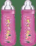 MAM Kojenecká láhev Baby Bottle (2 ks) 330 ml, 4m+, růžová