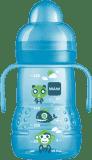 MAM Butelka TRAINER, 220ml, 4+ miesiące - niebieska - losowy motyw