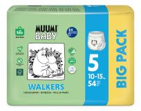 MUUMI Baby Walkers Big Pack vel. 5, 54 ks, 10-15 kg