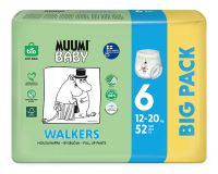 MUUMI Baby Walkers Big Pack vel. 6, 52 ks, 12-20 kg