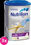 3x NUTRILON 4 ProFutura (800g) - dojčenské mlieko