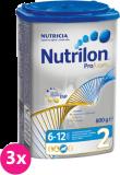 3x NUTRILON 2 ProFutura (800g) - dojčenské mlieko
