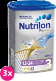 3x NUTRILON 3 ProFutura (800g) - dojčenské mlieko