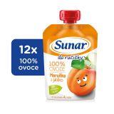 12x SUNAR Do ručičky Meruňka 100 g