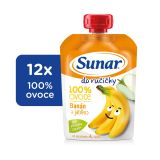 12x SUNAR Do ručičky Banán 100 g