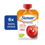 6x SUNAR  Do ručičky Jablko 100 g