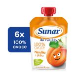 6x SUNAR  Do ručičky Meruňka 100 g