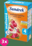 3x SUNÁREK Malinová kašička (225 g) - mliečna kaša