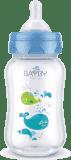 BAYBY BFB 6102 Kojenecká láhev PP 250ml - modrá (0m+)