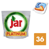 JAR Platinum Orange 36szt – kapsułki do zmywarki