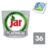 JAR Platinum Green 36szt – kapsułki do zmywarki