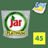 JAR Platinum Yellow 45ks - kapsule do umývačky riadu