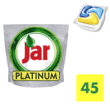 JAR Platinum Yellow 45szt – kapsułki do zmywarki