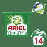 ARIEL Active Gel Mountain Spring All in 1 (14szt.) - żelowe kapsułki do prania