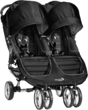 BABY JOGGER Kočárek City Mini Double - Black/Black