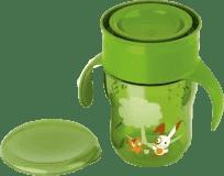 AVENT Kubek do nauki samodzielnego picia 260 ml – zielony