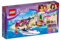 LEGO® Friends 41316 Andrein vůz s přívěsem pro člun