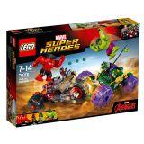 LEGO® Super Heroes Hulk kontra Czerwony Hulk