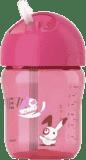 Philips AVENT Hrnček so slamkou 260 ml ružový